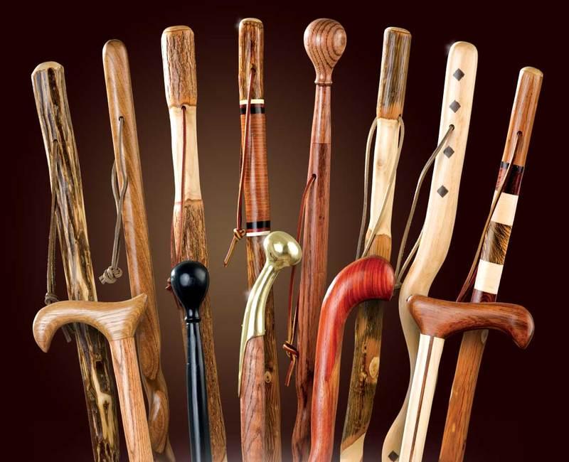Gậy gỗ cho người già